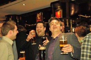 Campixx 2011 - Warming up in der Hotelbar